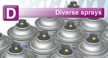 Diverse Sprays..
