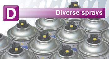 Diverse Sprays