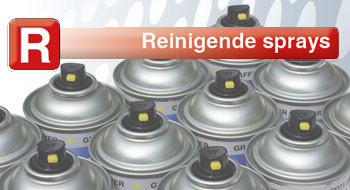 Reinigende Sprays..