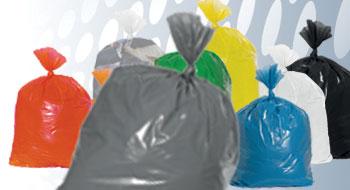 Plastic zakken grijs