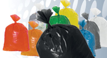 Plastic zakken zwart